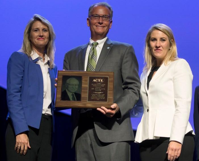 Doug Major receives Oklahoma CareerTech's top award