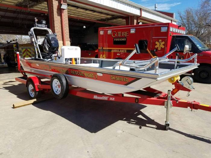 Guthrie firefighters responding to Houston for Harvey rescue assistance
