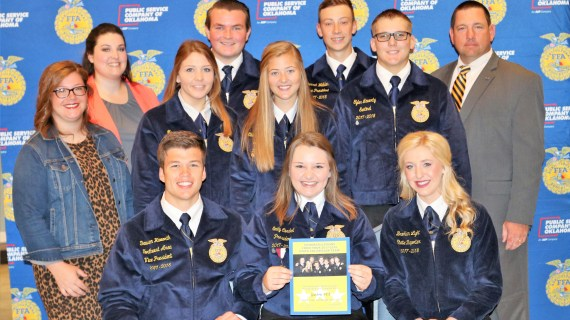 Guthrie participates in Oklahoma FFA Chapter Officer Leadership Training Conference