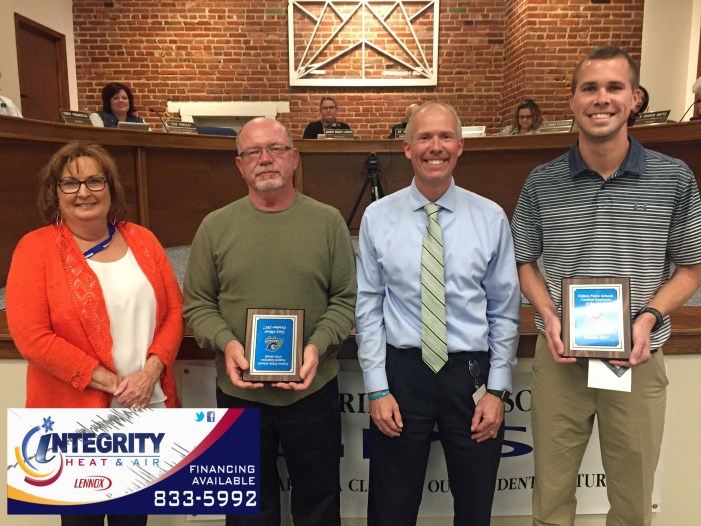Watch: GPS recognizes October employees of the month