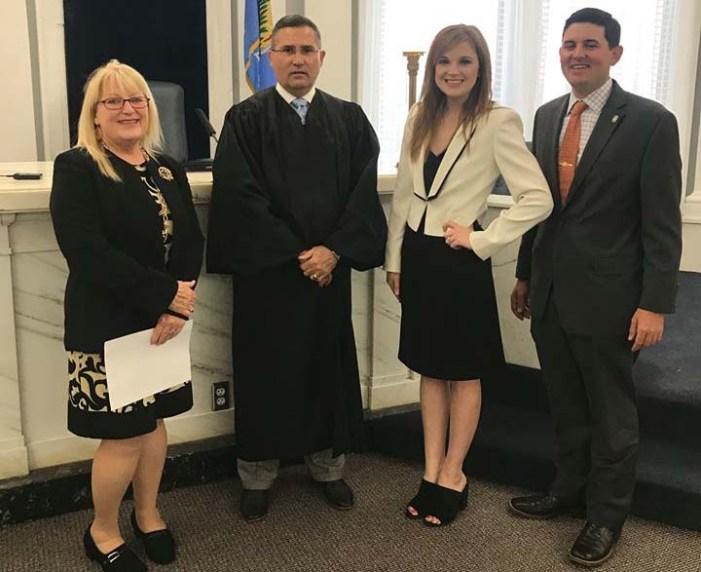 New ADA sworn into office