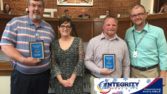 Video: GPS recognizes March Employees of the Month