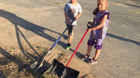 Central Elementary playground gets some TLC