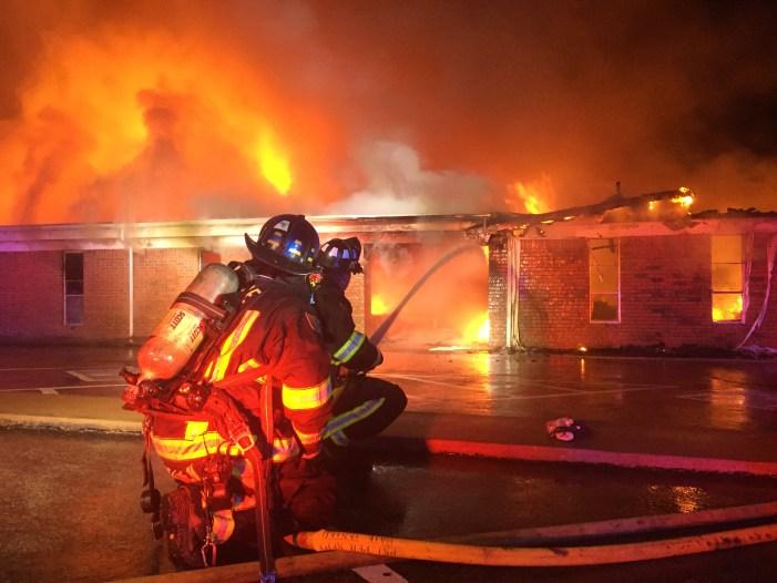 Video: Fire burns through west side church