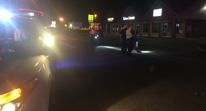 Auto-pedestrian accident leaves man with multiple injuries