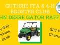 Guthrie FFA, 4H Booster Club presents annual Pork Chop Dinner