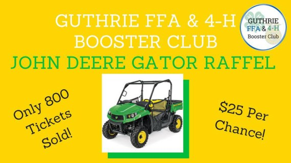 Guthrie FFA, 4H Booster Club presents annual Pork Chop Dinner
