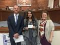 Video: Teresa Avila named Student of the Month