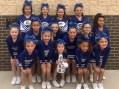 Guthrie Youth cheerleaders receive sportsmanship award