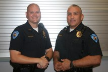 Two Guthrie Police Officers Receive Promotion