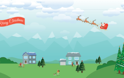 Xmas Drone Run game & competition by NATS