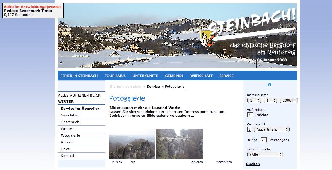 WebsiteSteinbach