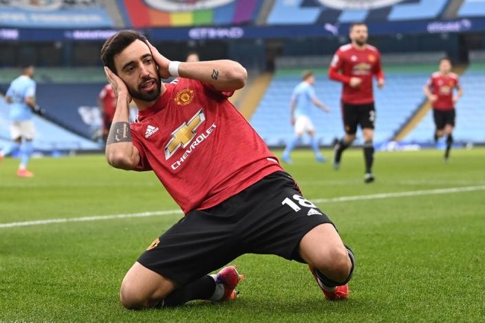 Red Devils win 2-0 in Manchester Derby…