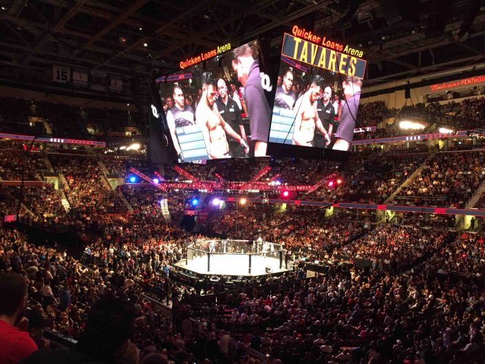 UFC moving to Texas, expect packed arenas…