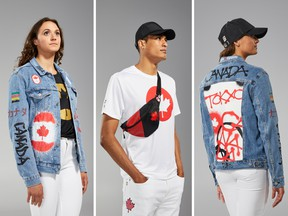 Canadian Olympic team is embracing the 'Canadian tuxedo'…