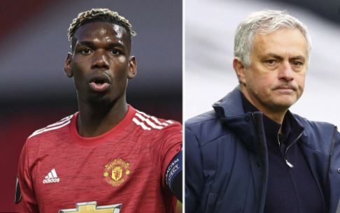 Pogba throws Mourinho under the bus with former coach up against the wall at Hotspur…