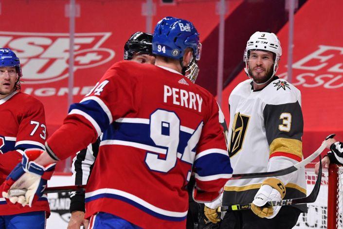 Overtime hockey in Montreal…
