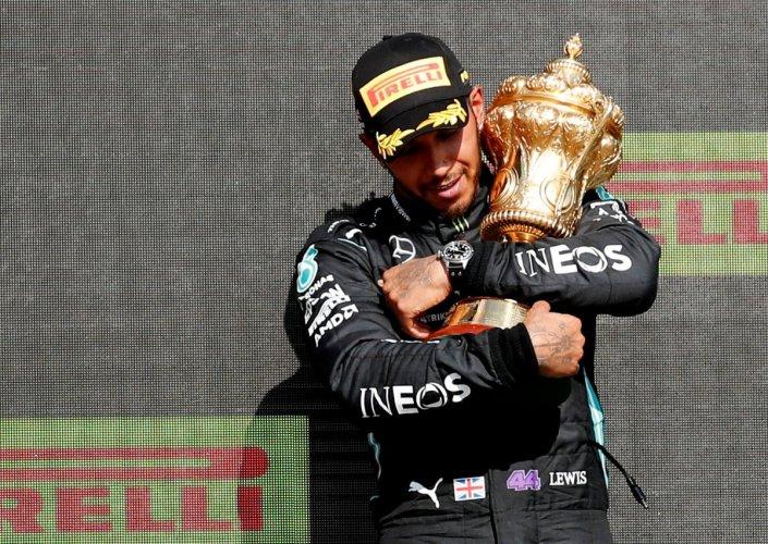 Lewis Hamilton takes the F1 British Grand Prix…