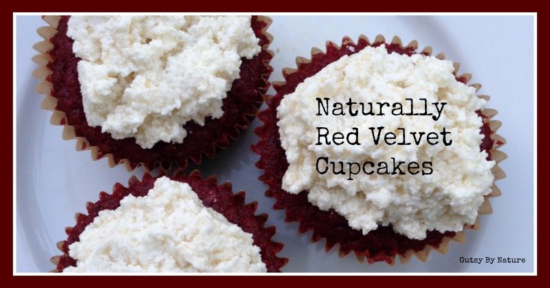 Naturally Red Velvet Cupcakes