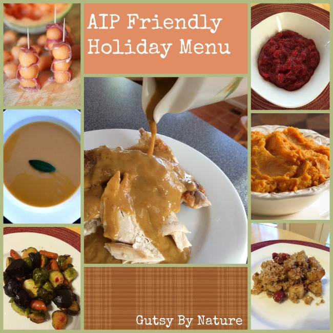 AIP Friendly Holiday Menu