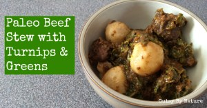 paleo beef stew with turnips
