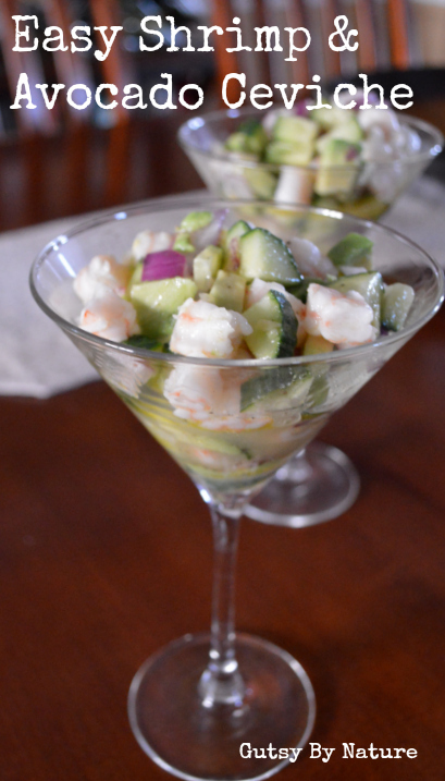 Easy Shrimp & Avocado Ceviche