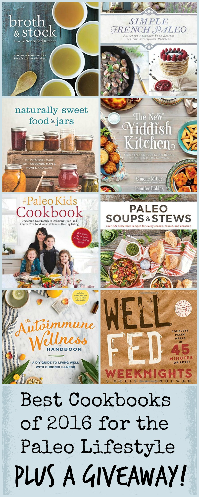 My Favorite Cookbooks for the Paleo Lifestyle 2016