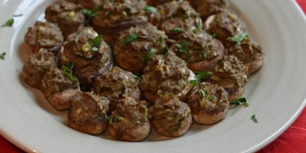 Seafood Stuffed Mushrooms (AIP, SCD)