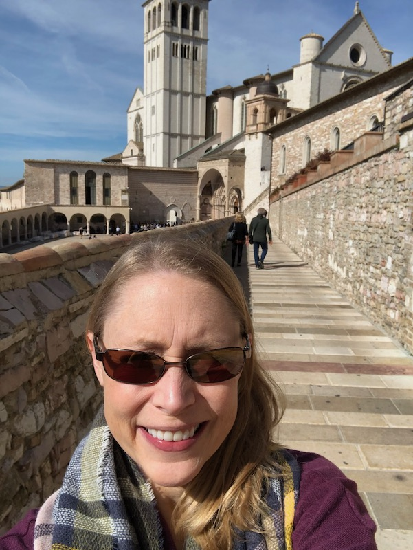 Walking in the footsteps of St. Francis of Assisi