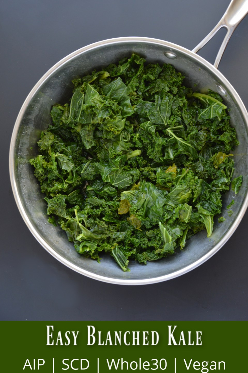 Easy Blanched Kale