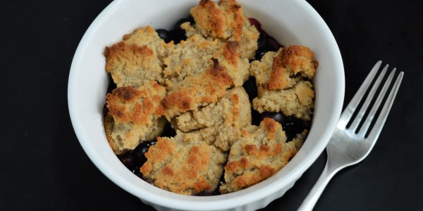 aip blueberry cobbler