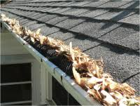 Gutter Guards must be cleared of debris