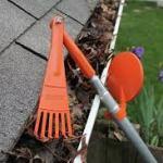 grasping tool in gutter