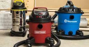 3 wet dry vacuum brands displayed