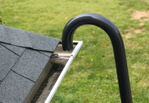 single story gutter cleaning no ladder needed using Gutter Clutter Buster