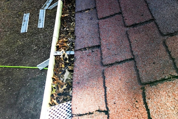 composite guards typically blow off the gutter  shur flo gutter guards wichita