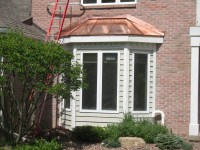 Copper Bay Window Roofs on Red Fox Trail