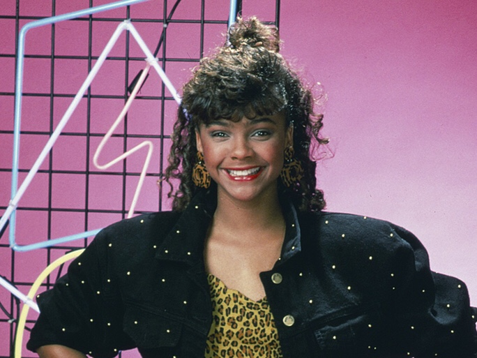 Lark Voorhies from NBC's Saved by the Bell