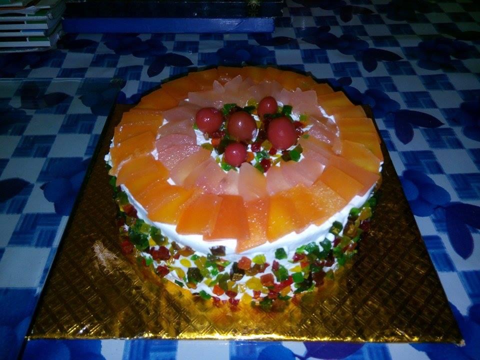 Fruit Cake by Chef Saman Singh