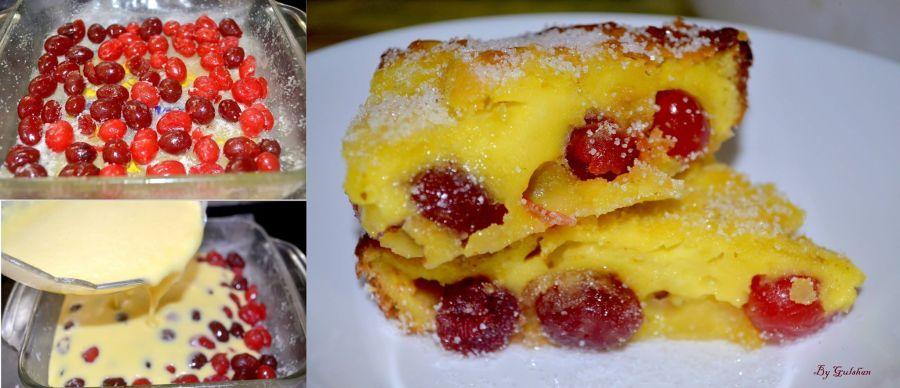 Cherry Clafoutis by Gulshan Alam #GuwahatiFoodie