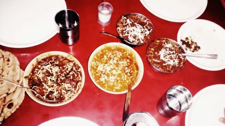 Dinner @ Ambersari Dhaba #GuwahatiFoodie