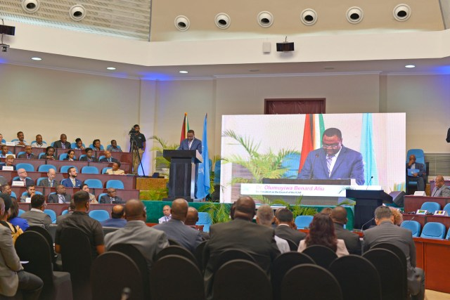 Council President of the ICAO, Dr. Olumuyiwa Benard Aliu