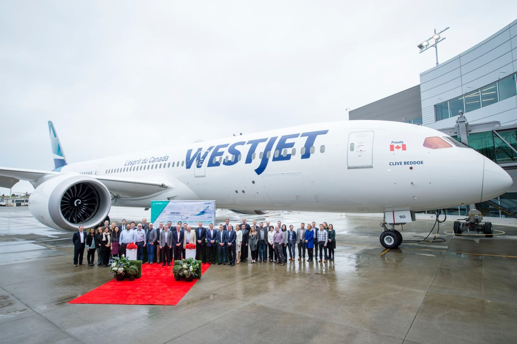 WestJet 787 Dreamilner