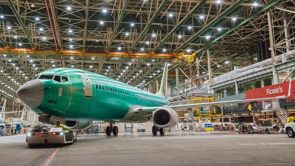 Boeing 737 Plant