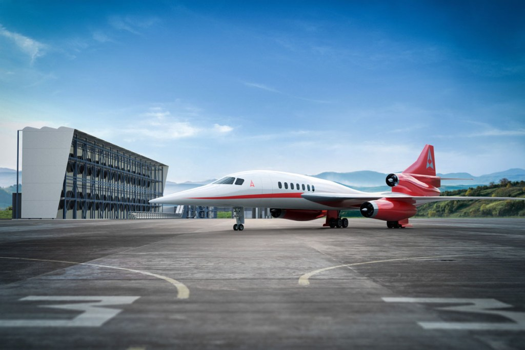 Aerion and Carbon Engineering