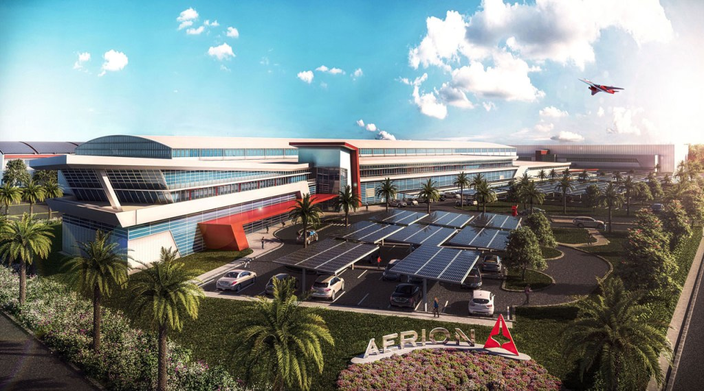 Aerion and Space Florida