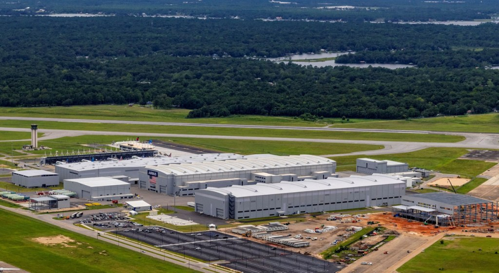 Airbus plant, Mobile, Alabama