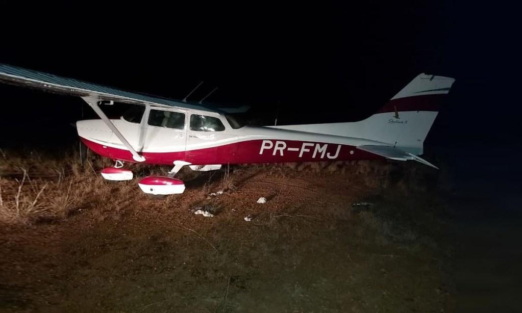 PR-FMJ at Issano Airstrip