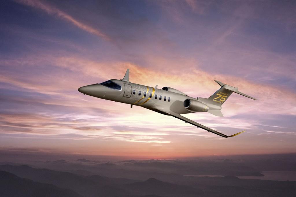 Learjet 75 Liberty Enters Service