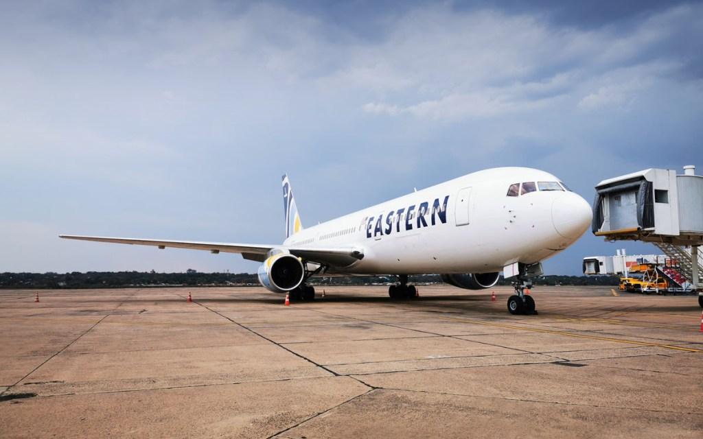 Eastern Airlines B767, Asuncion